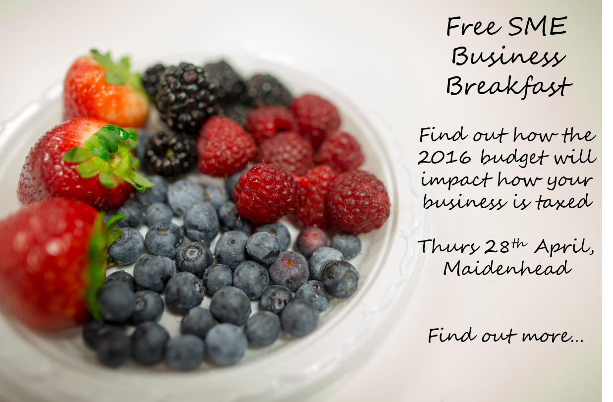 Free SME Business Breakfast graphic
